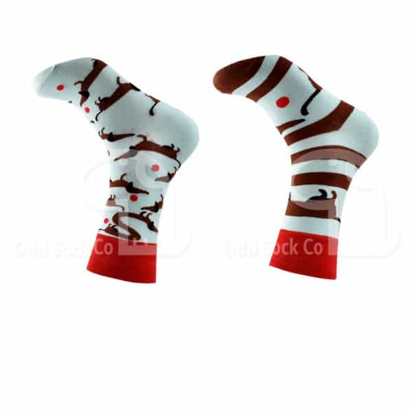 Dachshund About Themed Socks Odd Sock Co