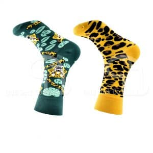 Leopard Spot Themed Socks Odd Sock Co
