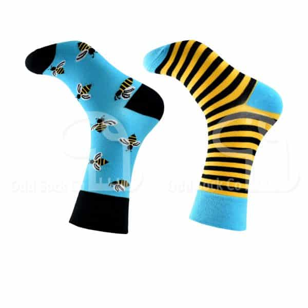 Mr Do-Bee Themed Socks Odd Sock Co